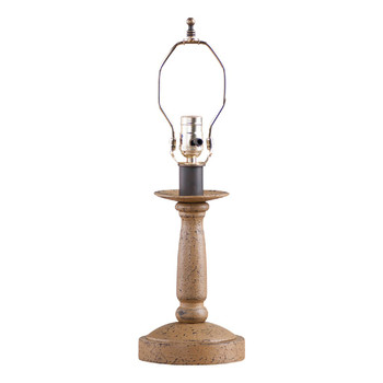Americana Pearwood Butcher's Table Lamp Base