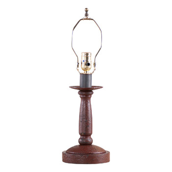Americana Plantation Red Butcher's Table Lamp Base