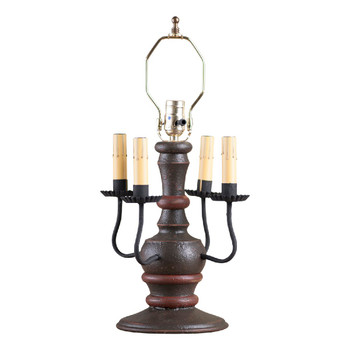 Americana Espresso Cedar Creek Table Lamp Base