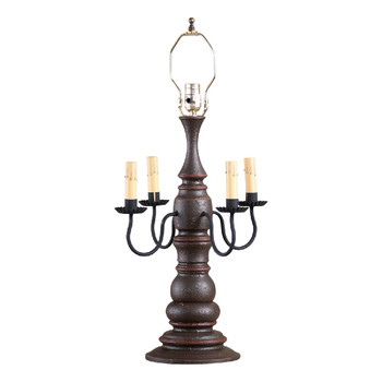 Americana Espresso Bradford Table Lamp Base
