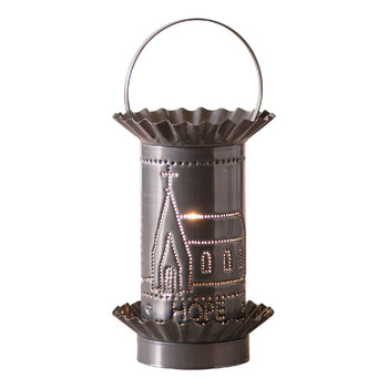 Country Tin Mini Faith Hope Love Electric Wax Melter Wax Warmer