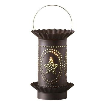Kettle Black Mini Star Oval Design Electric Wax Melter Wax Warmer