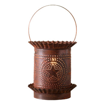 Rustic Tin Jumbo Regular Star Electric Wax Melter Wax Warmer