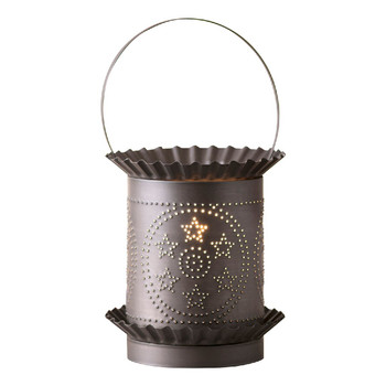 Kettle Black Jumbo Circle Star Electric Wax Melter Wax Warmer