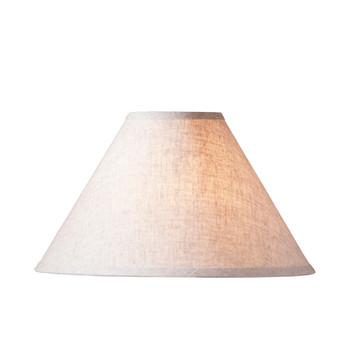 "15"" Ivory Linen Lamp Shade"