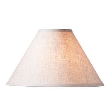 "17"" Ivory Linen Lamp Shade"