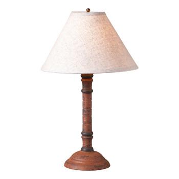 Hartford Pumpkin Gatlin Wood Table Lamp with Shade