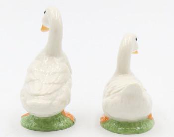 Duck Porcelain Salt and Pepper Shakers, Set of 4