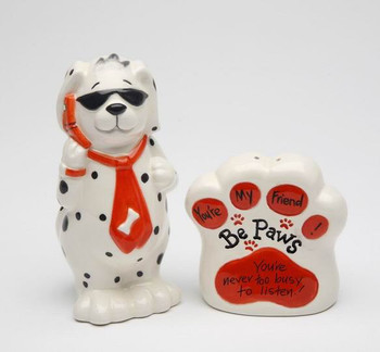 Dog You're Never Too Busy To Listen Salt and Pepper Shakers, Set of 4