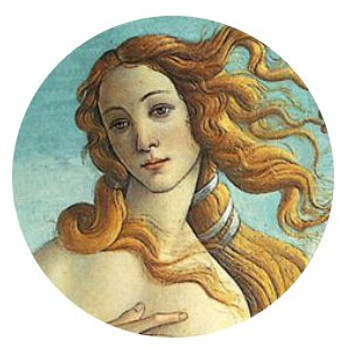 Birth of Venus Portable Folding Cosmetic Compact Mirror by Botticelli