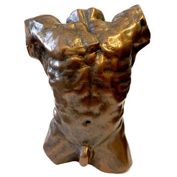Male Nude Torso Statue by Auguste Rodin