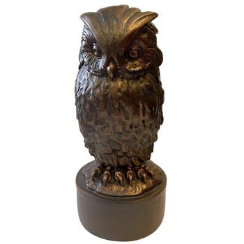 Giambologna Owl Bird Statue