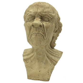 Vexed Man Caricature Study Pocket Art Statue by Messerschmidt