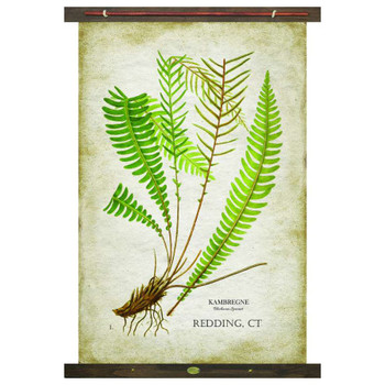 Custom Fern Kambregne Canvas Tapestry