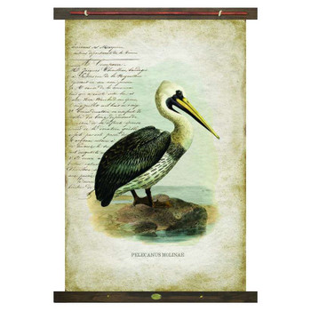 Custom Pelican Bird Pelecanus Molinae Canvas Tapestry