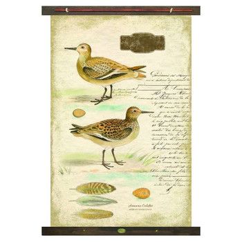 Custom Sandpiper Birds Canvas Tapestry