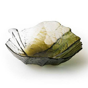 Small Folia Crystal Bowl by Mats Jonasson