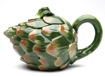 Artichoke Porcelain Teapot