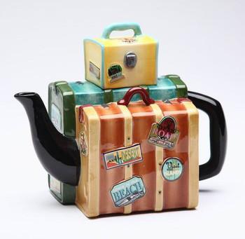 Road Trip Ceramic Teapot