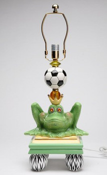 Frog Prince Table Lamp