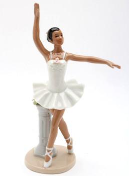 African American Ballerina Porcelain Sculpture