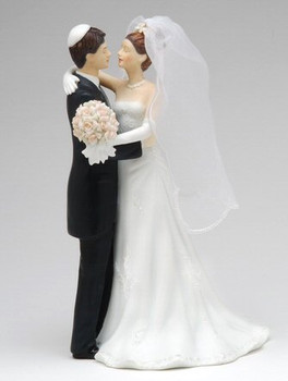 Bride and Groom with Yamachah Porcelain Sculpture