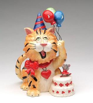 Boris Cat Birthday Musical Sculpture