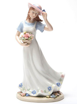 Breezy Grace Porcelain Figurine Sculpture