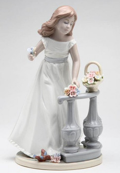 Spring Time Harmony Porcelain Sculpture by Nadal