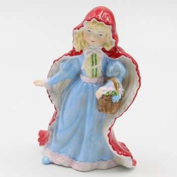 Little Red Riding Hood Porcelain Sculptures, Set of 2