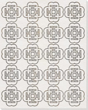 Drawn Pattern 4 Wrapped Canvas Giclee Art Print Wall Art
