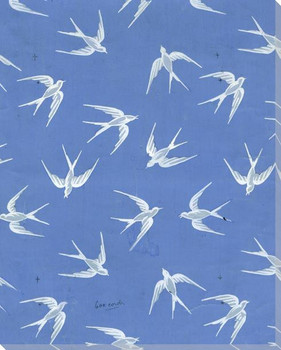 Seagull Birds Wrapped Canvas Giclee Art Print Wall Art
