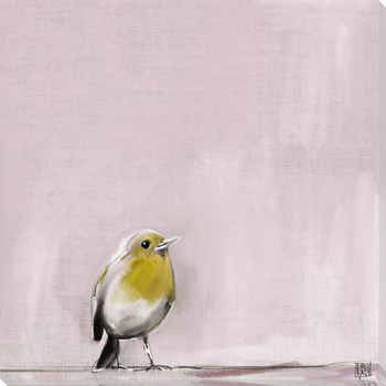 Tweet Tweet Bird 2 Wrapped Canvas Giclee Art Print Wall Art