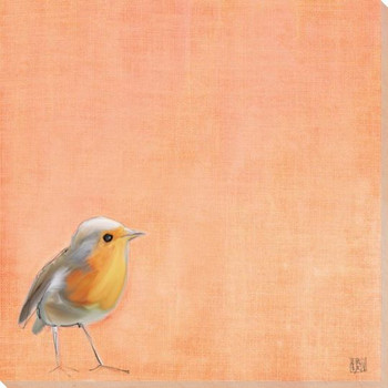Tweet Tweet Bird 5 Wrapped Canvas Giclee Art Print Wall Art