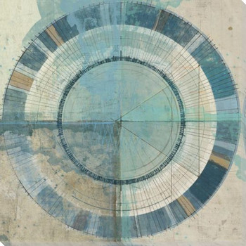 Circle Coalition Cool 9 Wrapped Canvas Giclee Art Print Wall Art