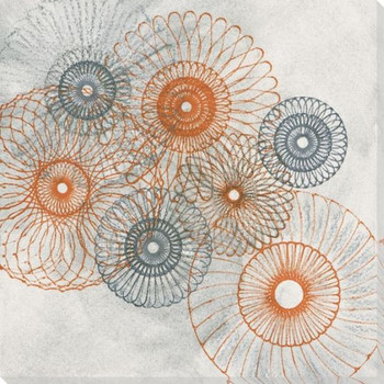 Spiro Vision Wrapped Canvas Giclee Art Print Wall Art