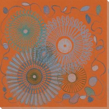 Spiro Daze Wrapped Canvas Giclee Art Print Wall Art