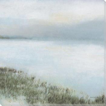 Whisper Bay II Wrapped Canvas Giclee Art Print Wall Art