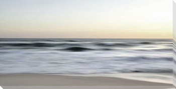 Costal Motion Wrapped Canvas Giclee Art Print Wall Art