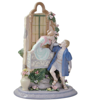 Romeo and Juliet Porcelain Sculpture