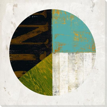 Pie Chart Construction 2 Wrapped Canvas Giclee Art Print Wall Art