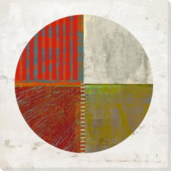 Pie Chart Construction 5 Wrapped Canvas Giclee Art Print Wall Art