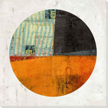 Pie Chart Construction 6 Wrapped Canvas Giclee Art Print Wall Art
