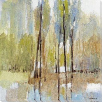 Muted Woodland I Wrapped Canvas Giclee Art Print Wall Art