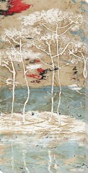 Mars I Trees Wrapped Canvas Giclee Art Print Wall Art