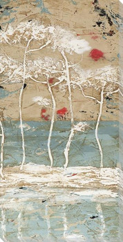 Mars II Trees Wrapped Canvas Giclee Art Print Wall Art