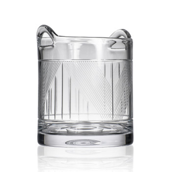 Bleecker Street Glass Champagne Ice Bucket