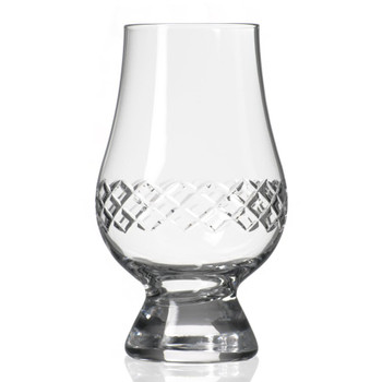 Diamond Scotch Glencairn Glasses, Set of 4