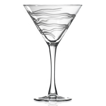 Good Vibrations Martini Glasses, Set of 4