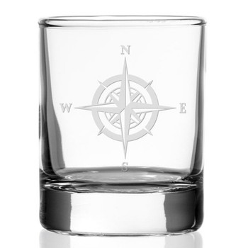 "2.5"" Compass Rose Votive Candle Holders, Set of 12"